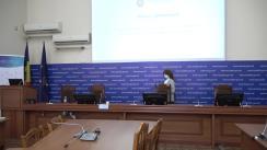 Conferința de presă organizată de Ministerul Sănătății privind situația epidemiologică prin COVID-19 și derularea campaniei de vaccinare împotriva COVID-19