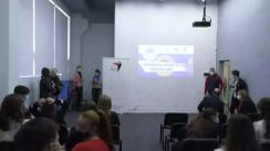 Evenimentul de conferire a diplomelor de merit pentru cei mai activi voluntari din Chișinău