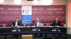 """Dezbaterea publică organizată de Agenția de presă IPN la tema """"Despre ce este, cum evoluează și ce șanse are noul dialog UE-Moldova?"""""""