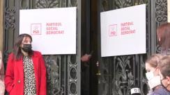 Conferință de presă după ședința Consiliului Politic Național al Partidului Social Democrat din 11 octombrie 2021