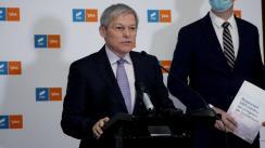 Declarații de presă susținute de Președintele USR PLUS, Dacian Cioloș, după ședința Biroului Național USR PLUS