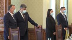 Consultările Președintelui României, Klaus Iohannis, cu Partidul Social Democrat (PSD) în vederea desemnării unui candidat pentru funcția de Prim-ministru