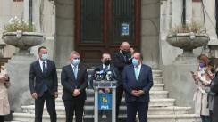 Declarație de presă susținută de Președintele PNL, Florin Cîțu, după consultările cu Președintele României, Klaus Iohannis, în vederea desemnării unui candidat pentru funcția de Prim-ministru