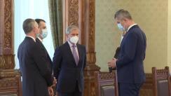 Consultările Președintelui României, Klaus Iohannis, cu Partidul USR PLUS în vederea desemnării unui candidat pentru funcția de Prim-ministru