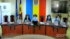 Ședința Comisiei Electorale Centrale din 14 octombrie 2021