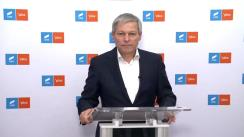 Declarație de presă susținută de premierul desemnat Dacian Cioloș, după întâlnirea cu președinții PNL și UDMR