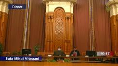 Ședința comisiei juridice de disciplină și imunități din 14 octombrie 2021