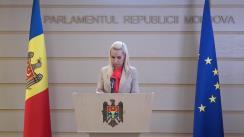 """Briefing de presă susținut de către deputații fracțiunii parlamentare a Partidului """"ȘOR"""""""