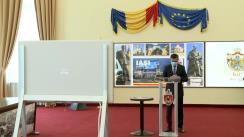 Conferință de presă susținută de Primăria Municipiului Iași