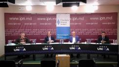 """Dezbaterea publică organizată de Agenția de presă IPN la tema """"Pe ce se bazează optimismul guvernării privind criza energetică?"""""""