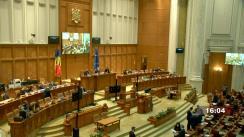 Ședința în plen a Camerei Deputaților României din 18 octombrie 2021