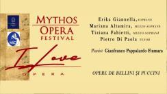 """Concert """"I Love Opera"""" organizat de Ambasada Italiei la Chișinău în colaborare cu Mythos Opera Festival din Italia"""