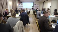 """Conferința finală în cadrul proiectului """"Fii schimbarea: cetățeni implicați - comunități durabile"""""""