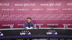 """Conferință de presă organizată de Institutul de Politici Publice cu tema """"Cum și de ce Guvernele Moldovei și Ucrainei ar trebui să suspende și să amendeze Programul Strategic de Acțiuni pentru Bazinul Hidrografic al fluviului Nistru pe perioada anilor 202I-2035? Opt amendamente mici care pot preveni costuri mari"""""""