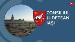 """Conferința de finalizare a proiectului """"Fazarea proiectului Sistem de Management Integrat al Deșeurilor în județul Iași"""""""