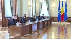 Consultările Președintelui României, Klaus Iohannis, cu Grupul Parlamentar al Minorităților Naționale în vederea desemnării unui candidat pentru funcția de Prim-ministru