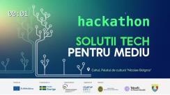 """Hackathon """"Soluții TECH pentru mediu"""""""