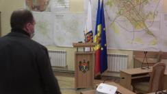 Conferință de presă susținută de Primarul Municipiului Chișinău, Ion Ceban