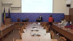 Conferința de presă organizată de Ministerul Sănătății privind evoluția epidemiologică în Republica Moldova și acțiunile întreprinse în contextul Săptămânii Imunizării