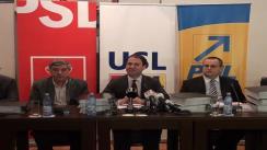Conferință de presă susținută de vicepreședintele PSD, Robert Negoiță