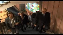 Președintele interimar, Președintele Parlamentului Republicii Moldova Mihai Ghimpu împreună cu conducerea regiunii Lazio