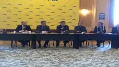 Conferință de presă după reuniunea Consiliului Național Executiv al Partidului Național Liberal