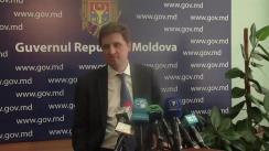 Declarațiile ministrului de Stat, Victor Bodiu, după ședința guvernului din 26 mai 2010