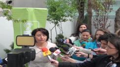 Declarațiile Sulfinei Barbu după conferința susținută de Partidul Democrat Liberal