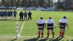 Meciul de Rugby între U Cluj - Farul Constanța